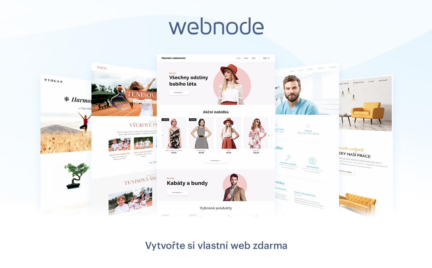 Šablony webu